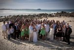 Oceana-wedding-celebrant-group Amanda and Nick-on-byron-bay-beach