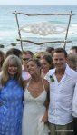 Oceana Wedding Celebrant with Danielle and Ben on beach byron bay