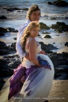 Oceana Wedding Celebrant with Roanne and Alan Byron Bay on beach